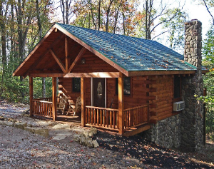 Bear Hugs Cabin for Rent in Hocking Hills Ohio