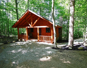 Cozy Cubs Cabin for Rent in Hocking Hills Ohio