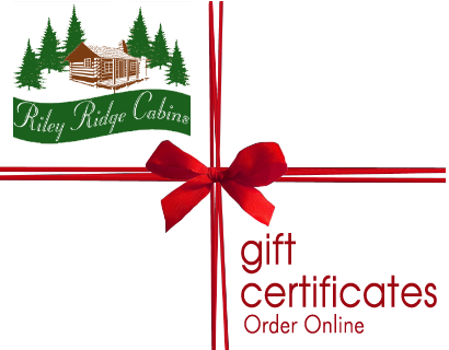 Cabin Rental - Gift Certificates