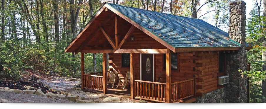Bear Hugs Cabin in Hocking Hills Ohio