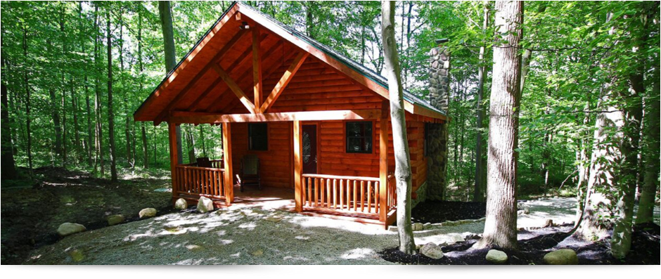 The Cozy Cub Cabin in Hocking Hills Ohio