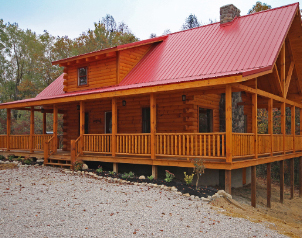 Lonestar Cabin for Rent in Hocking Hills Ohio